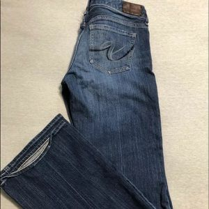 Express boot cut jeans size 6